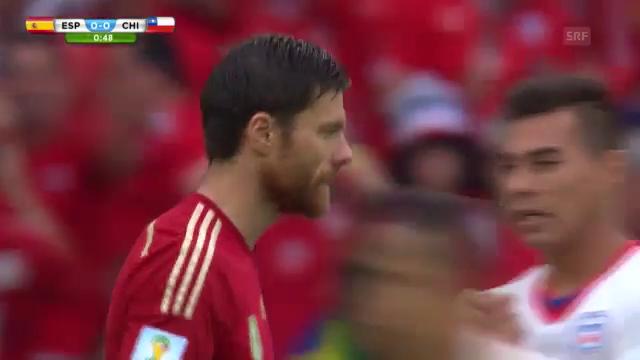 İspanya 0-2 Şili Maç Özeti
