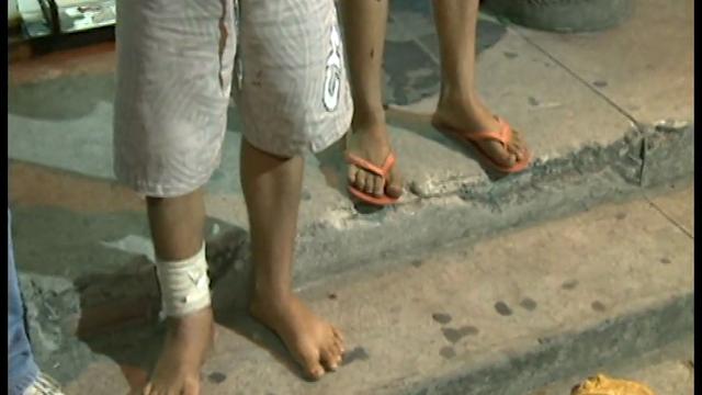 Após assaltarem um ônibus e esfaquear um policial dentro do coletivo, dois menores são apreendidos