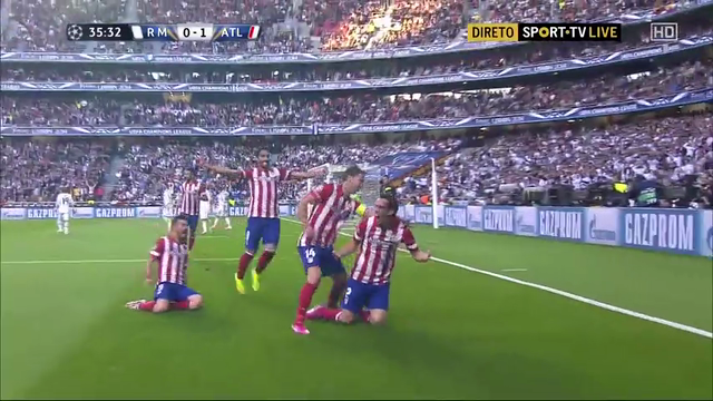 Real Madrid Atletico Madrid goals and highlights