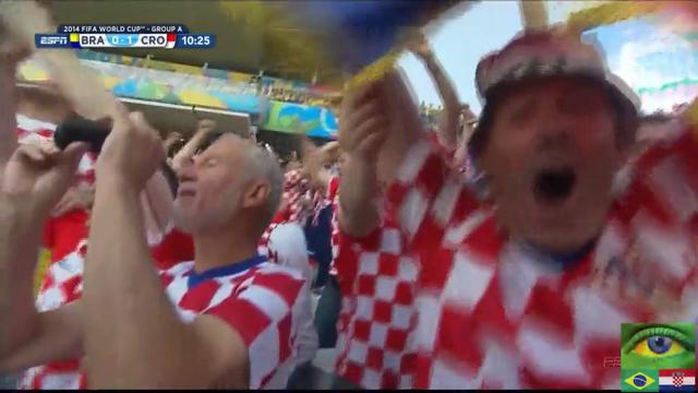 Brazil Croatia goals and highlights