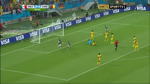 Mexico Cameroon goals and highlights
