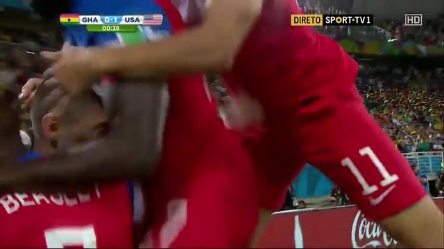 Ghana USA goals and highlights
