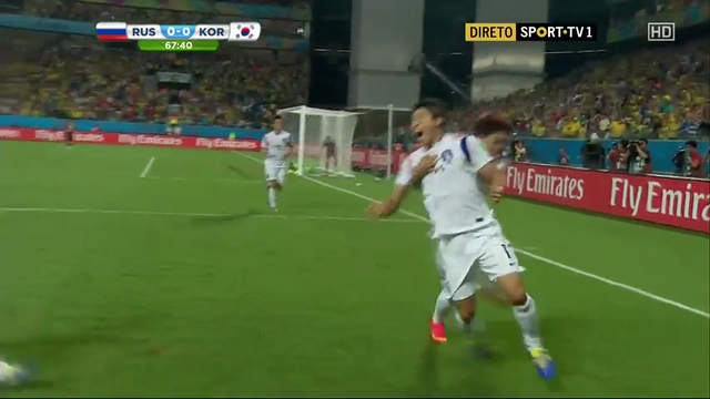 Russia South Korea goals and highlights