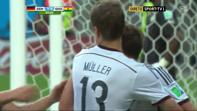 Germany Ghana goals and highlights