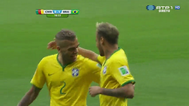 Cameroon Brazil goals and highlights