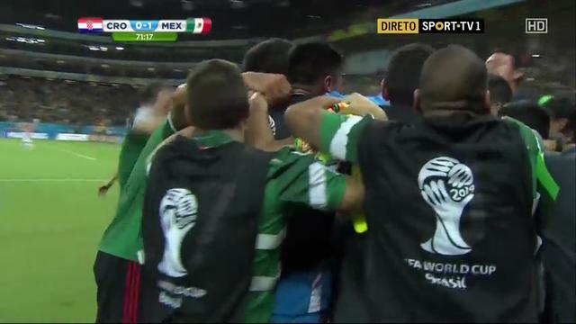 Croatia Mexico goals and highlights