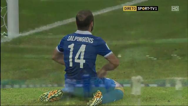 Costa Rica Greece goals and highlights