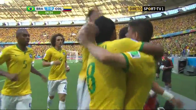 Brazil Colombia goals and highlights