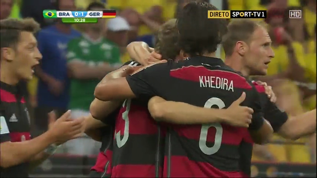 Brazil Germany goals and highlights