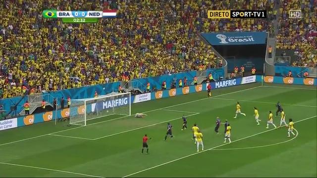 Brazil Netherlands goals and highlights