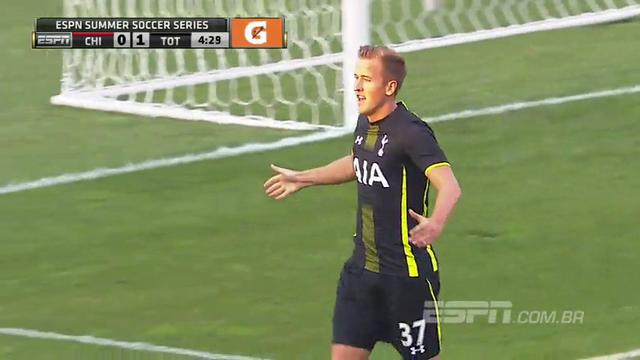 Resumo: Chicago Fire 0-2 Tottenham Hotspur (27 Julho 2014)