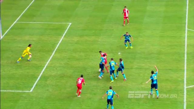 Resumo: Union Berlin 2-1 Sevilla (27 Julho 2014)