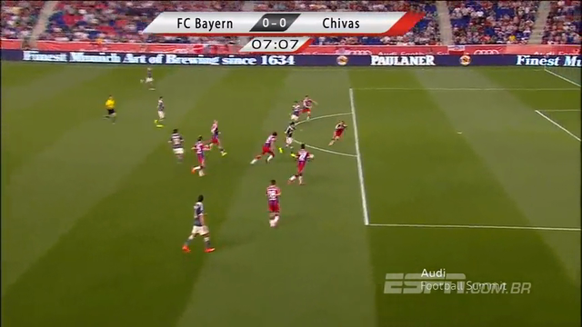 Resumo: Guadalajara 0-1 Bayern München (1 Agosto 2014)