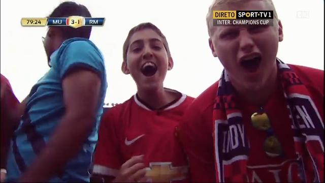 Manchester United 3-1 Real Madrid - Golo de J. Hernández (80min)