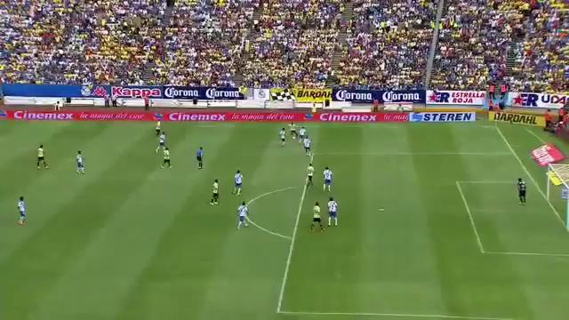 Resumo: Puebla 0-4 América (2 August 2014)