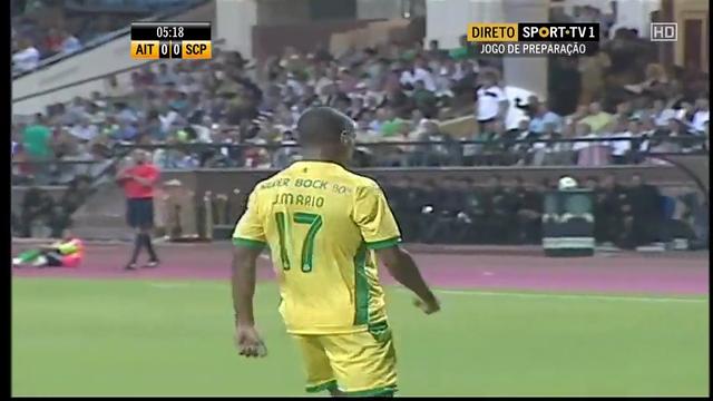 Resumo: Al Ittihad 2-2 Sporting CP (4 Agosto 2014)