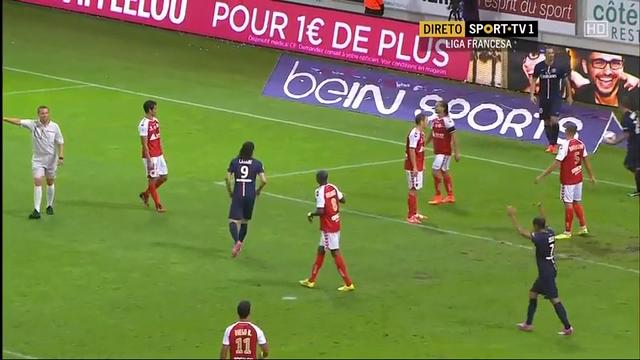 Reims 2-2 PSG - Golo de Z. Ibrahimovic (63min)