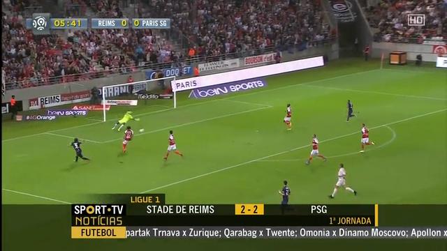 Resumen: Reims 2-2 PSG (8 agosto 2014)