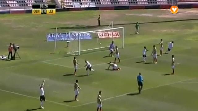 Olhanense 2-0 Leixões - Golo de Rodrigo Antônio (11min)