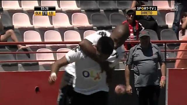 Olhanense 2-0 Leixões - Golo de Paulo Regula (84min)