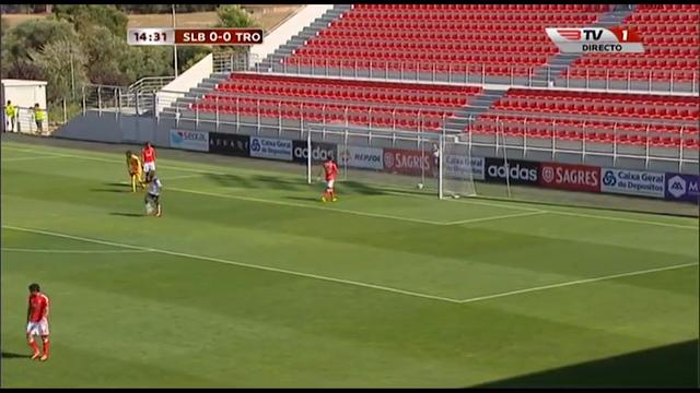 Benfica II 3-2 Trofense - Golo de Dario da Silva (13min)