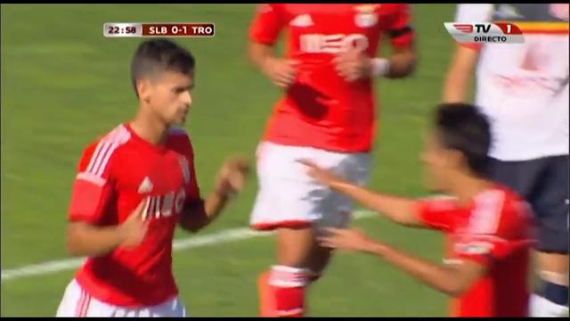 Benfica II 3-2 Trofense - Golo de Rui Fonte (24min)