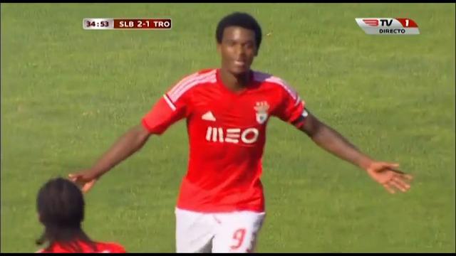 Benfica II 3-2 Trofense - Golo de Nelsinho (35min)