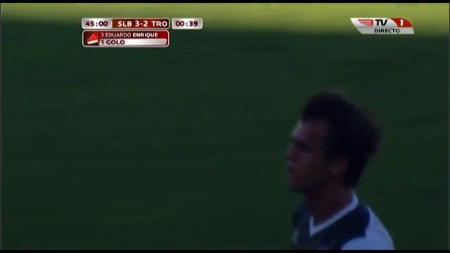 Benfica II 3-2 Trofense - Golo de Dudu (45min)