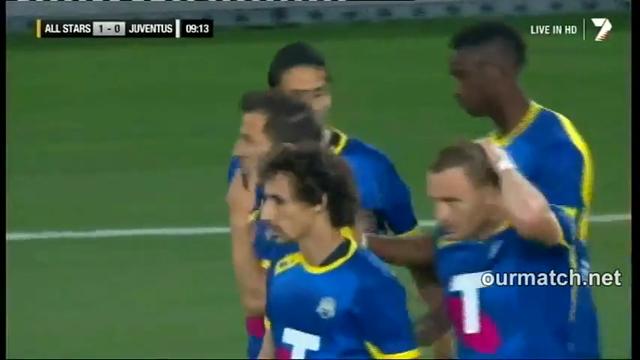 Resumo: A-League All Stars 2-3 Juventus (10 Agosto 2014)