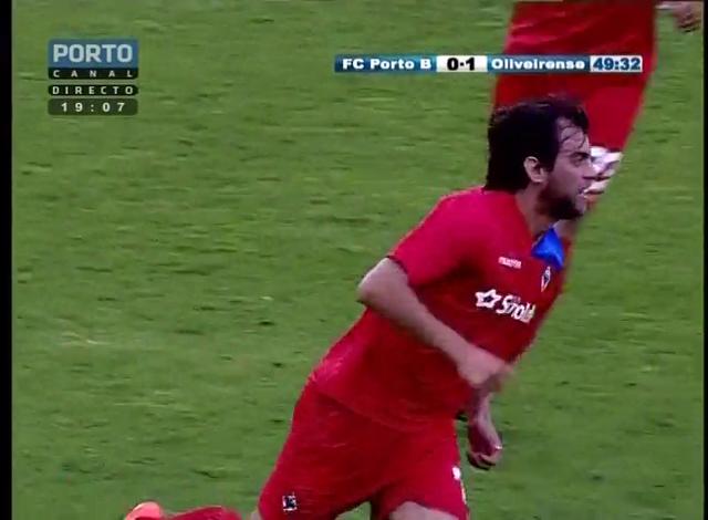 Porto II 1-3 UD Oliveirense - Golo de Ivan Santos (50min)