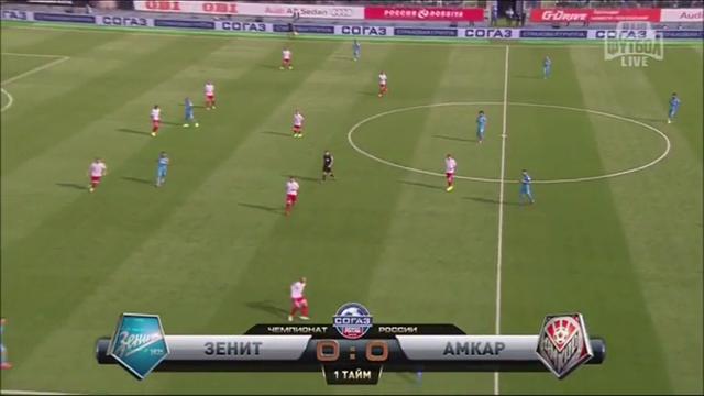 Resumo: Zenit 2-0 Amkar Perm' ()