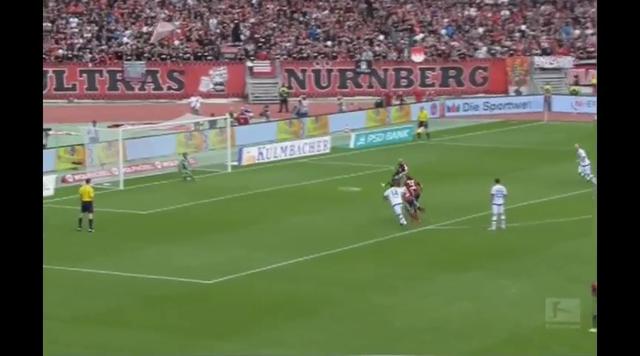 Resumo: Nürnberg 0-1 FSV Frankfurt (23 Agosto 2014)