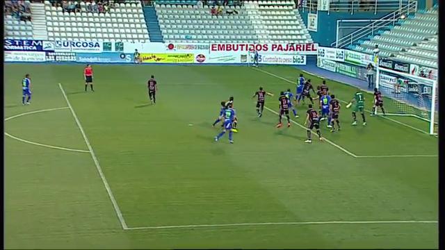 Resumo: Ponferradina 1-0 Tenerife (24 Agosto 2014)