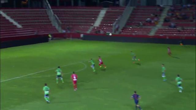 Resumo: Girona 1-0 Racing Santander (24 Agosto 2014)