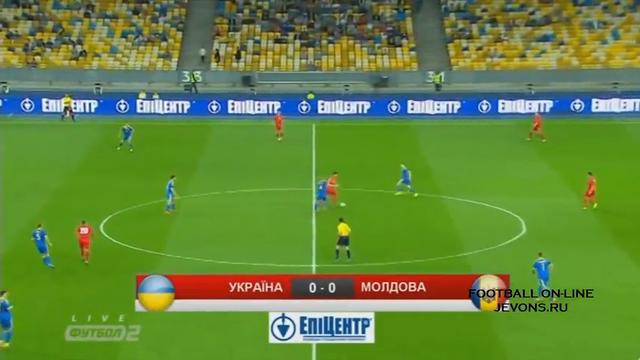 Resumo: Ukraine 1-0 Moldova (3 Setembro 2014)