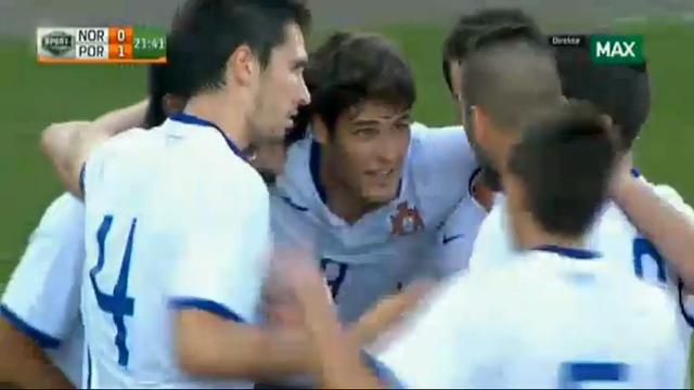 Norway U21 1-2 Portugal U21 - Golo de Carlos Mané (22min)