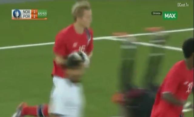 Norway U21 1-2 Portugal U21 - Golo de M. Bakenga (66min)