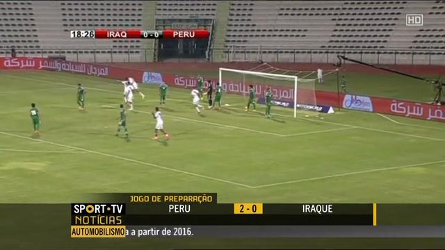 Resumo: Iraq 0-2 Peru (4 Setembro 2014)