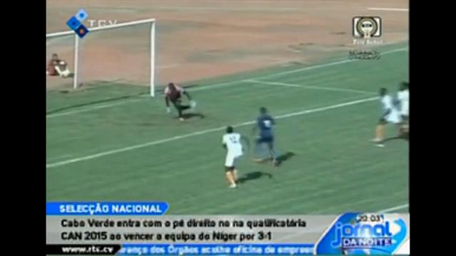 Resumo: Niger vs Cape Verde Islands (6 Setembro 2014)