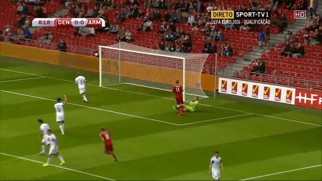 Denmark Armenia goals and highlights