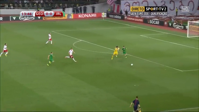 Resumo: Georgia 1-2 Republic of Ireland (7 Setembro 2014)