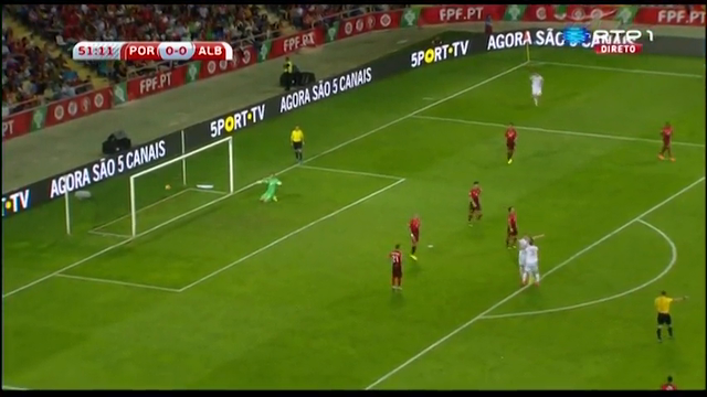 Portugal Albania goals and highlights