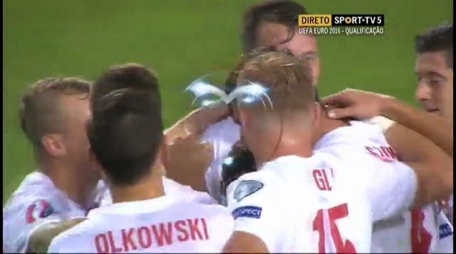 Gibraltar 0-7 Poland - Golo de Ł. Szukala (58min)