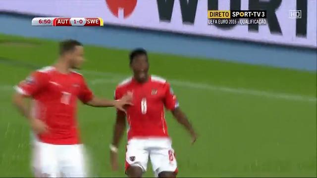 Austria Sweden goals and highlights