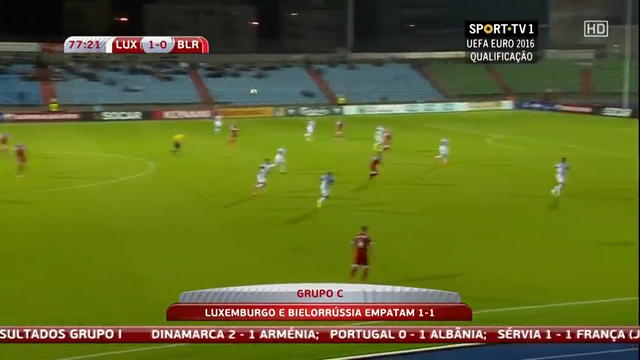 Luxembourg Belarus goals and highlights