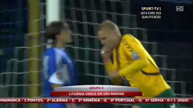 San Marino Lithuania goals and highlights