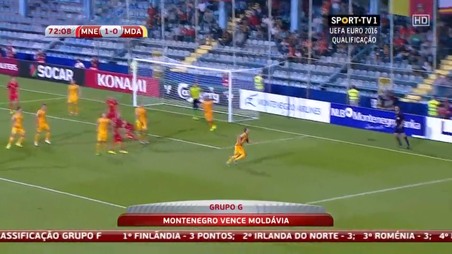 Montenegro Moldova goals and highlights
