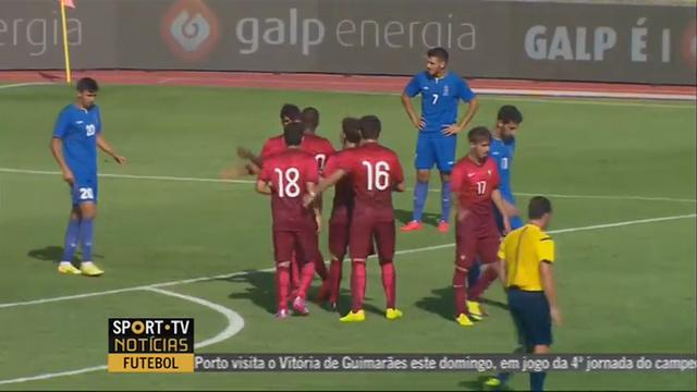 Resumo: Portugal U21 3-1 Azerbaijan U21 (9 Setembro 2014)