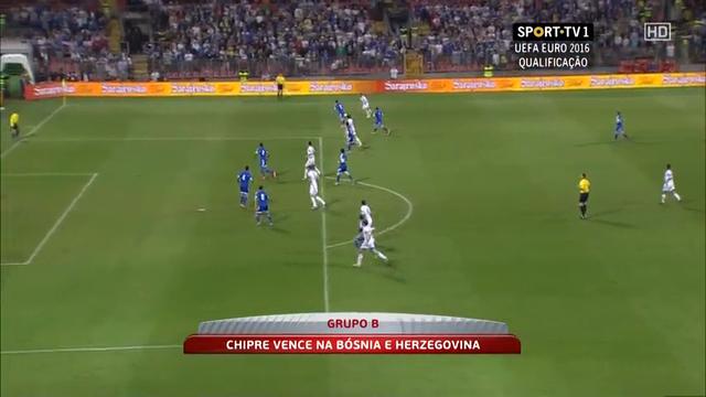 Bosnia-Herzegovina Cyprus goals and highlights