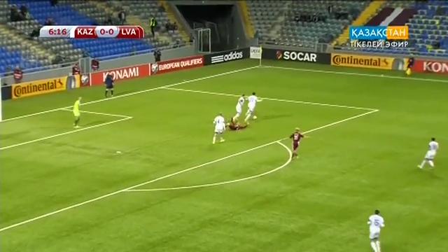Kazakhstan Latvia goals and highlights